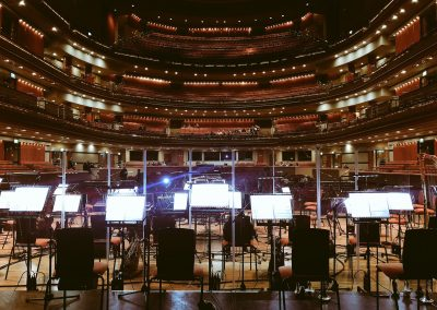 The Symphony Hall, Birmingham, from The Stage - 2018