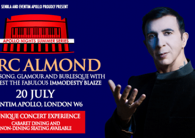 Marc Almond – Apollo Nights