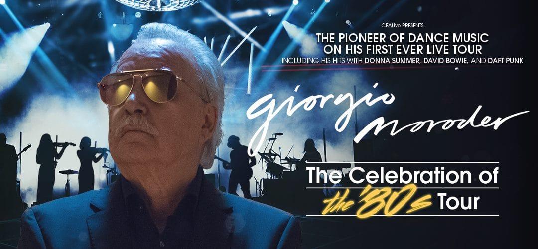Giorgio Moroder – The Celebration of the '80s Tour